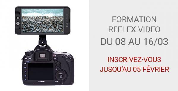 FORMATION REFLEX NUMERIQUE VIDEO POUR LES PHOTOGRAPHES CONVENTIONNEE AFDAS